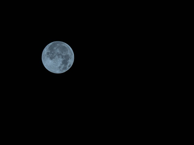 blue idioms - once in a blue moon