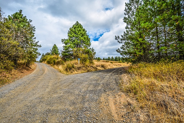 fork in the road - idioms about travel