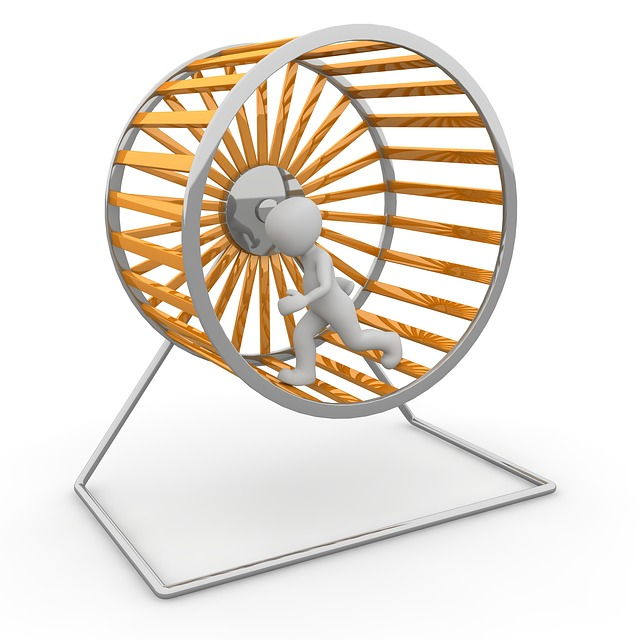spin one's wheels - travel idioms