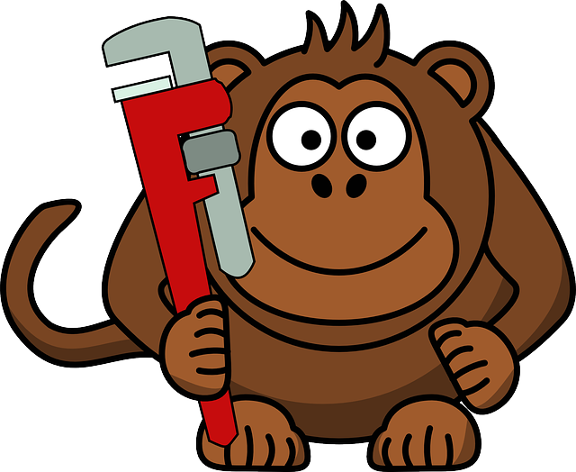 left handed monkey wrench - monkey idioms