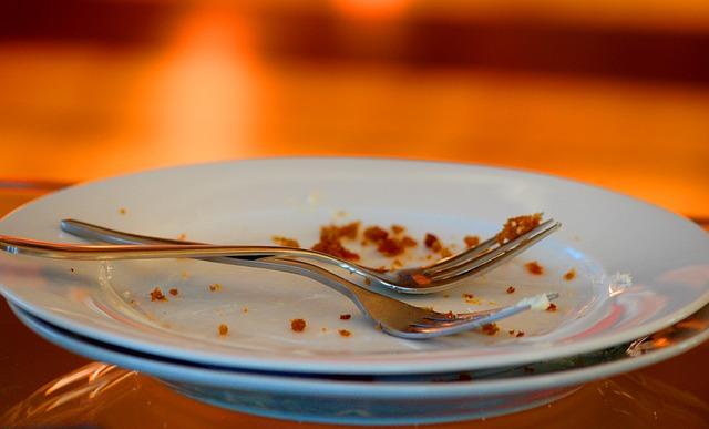 table crumbs