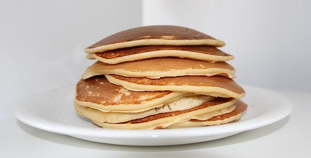 flat as a pancake - cake idioms